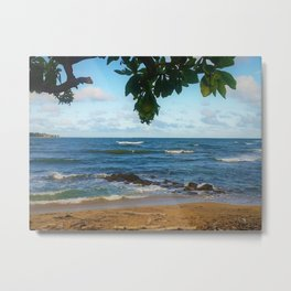 Hawaiian View Metal Print