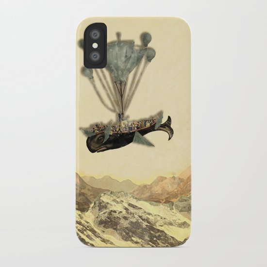 whale flight I iPhone Case