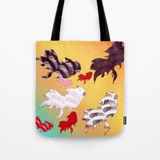 Dancing Fishes II Tote Bag