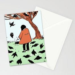 Mocking Birds at Bois de Boulogne {color} Stationery Cards
