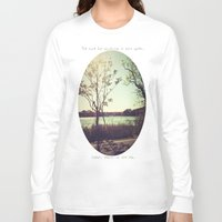 salt water Long Sleeve T-shirts featuring salt water is the cure for anything. by Cecelia Ercolino