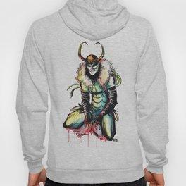 King Loki in Watercolor Hoody