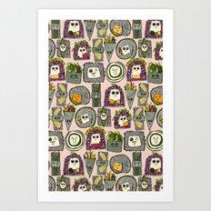 veggie sushi melba Art Print
