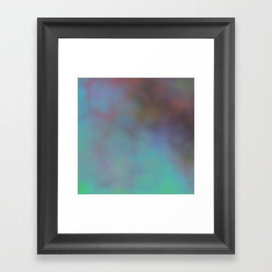 You whisper to my heart Framed Art Print