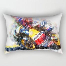 Mick Doohan Rectangular Pillow