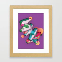 Accropodes Framed Art Print