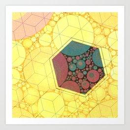 Sunsquare Art Print