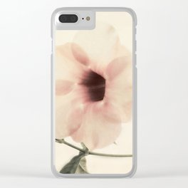 Indian Flower Clear iPhone Case
