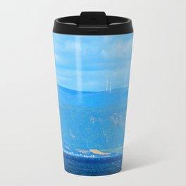 Coastal Wind Farm Travel Mug