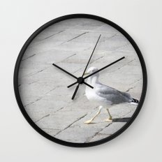 Stepping Out - Venice, Italy Wall Clock