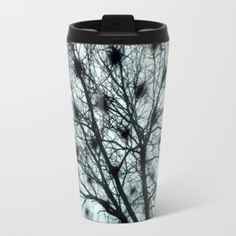 Black Tree, Black Spots Travel Mug