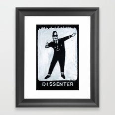 Dissenter Framed Art Print