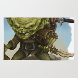 Goblin thief Rug