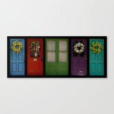 Doors of Clinton Canvas Print