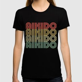 Aikido Distressed Design T-shirt