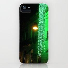 Green Cascade iPhone Case