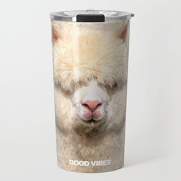 GOOD VIBES ALPACA Travel Mug
