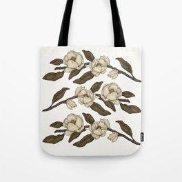 Magnolias Branch Tote Bag