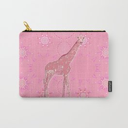 Patterns with Giraffe Carry-All Pouch