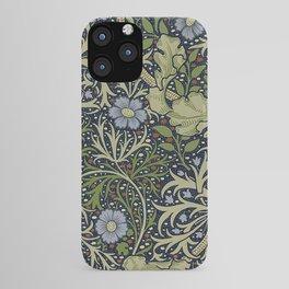 William Morris Seaweed Pattern iPhone Case