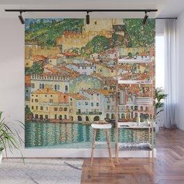 """Gustav Klimt """"Malcesine on Lake Garda"""" Wall Mural"""
