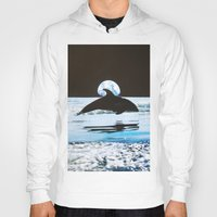 dolphin Hoodies featuring Dolphin by John Turck
