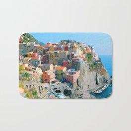 Italy. Cinque Terre - Cliffside Bath Mat