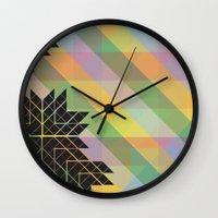 safari Wall Clocks featuring Safari by Kelsey Leach