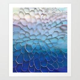 Periwinkle Dreams Art Print