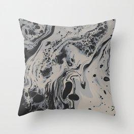 Big Empty Throw Pillow