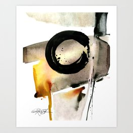 Enso Abstraction No. 105 by Kathy morton Stanion Art Print