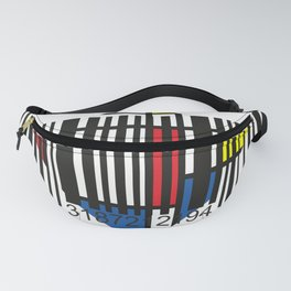 Barcode 004d Fanny Pack