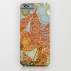 Perky Maple Leaf Abstract iPhone 6s Slim Case