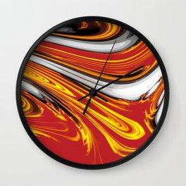 Magma Abstract Wall Clock
