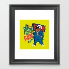 Big Fun Framed Art Print