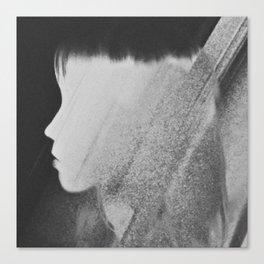 Faceless Charcoal Canvas Print