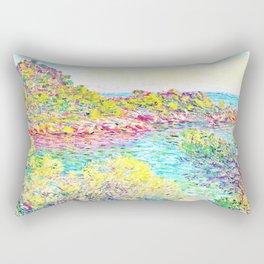 MONET : Landscape Near Montecarlo Rectangular Pillow