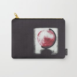 The world Globe - photopolymer/gravure Carry-All Pouch