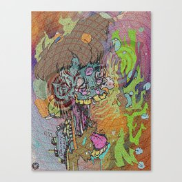 JAMMY PACK Canvas Print