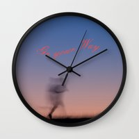 running Wall Clocks featuring Running by Tanja Riedel
