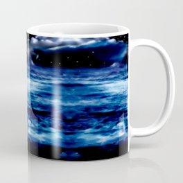 Blue Night Sky Coffee Mug