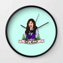 Janet is Not a Robot Wall Clock