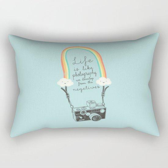 Life is like Photography Rectangular Pillow