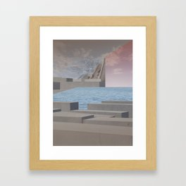 atmosphere 29 · Eternity Beton Memories Framed Art Print