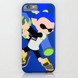 Inkling Boy (Blue) - Splatoon iPhone Case