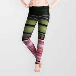 Strawberry lime licorice all sorts Leggings