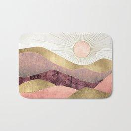 Blush Sun Bath Mat