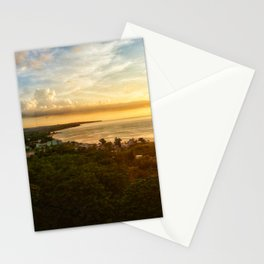Aguadilla Sunset mirdero Stationery Cards