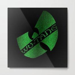 wu-tang game green Metal Print
