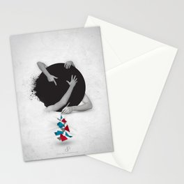 Something in Progress Stationery Cards